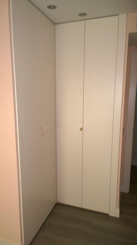 Armario esquinero blanco puerta de la habitacin de diseo - Armario ropero esquinero ...