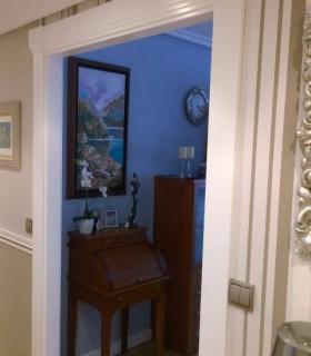 Puertas lacadas, Frente Armario y Suelo Pergo