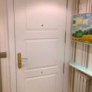 Panelado puerta blindada