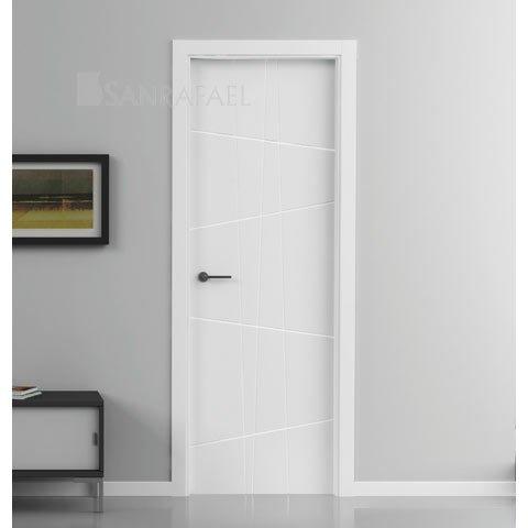 Puerta combinación de lacados