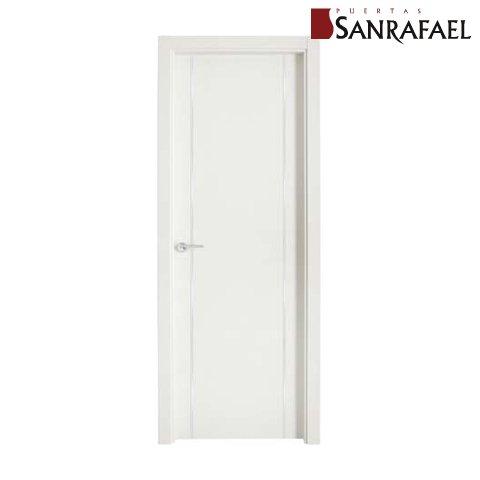 Puerta poro blanco
