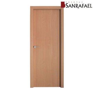 Puerta efecto madera haya