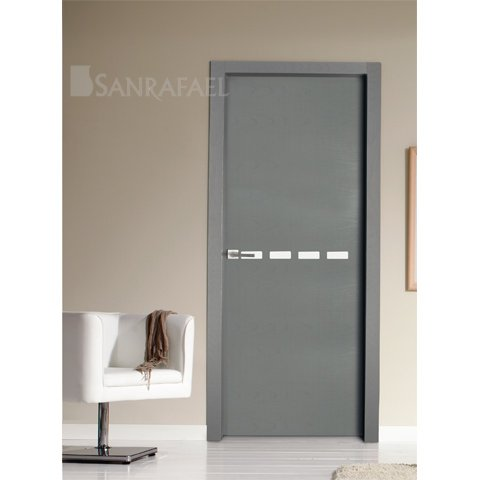 Puertas de madera tintadas en zaragoza expo puertas actur for Puerta interior gris