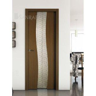 Puerta con cristal templado y laminado