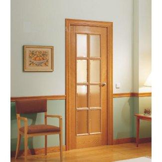 Puertas clásica en madera de cerezo