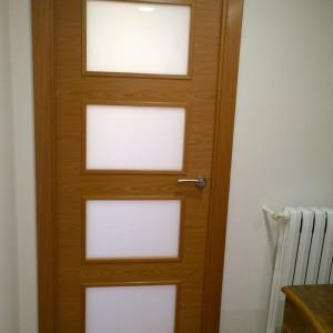 Puerta vidriera
