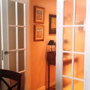 Puerta vidriera hoja doble v8