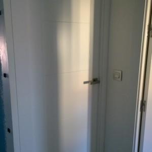 Puertas de paso blancas