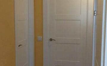 Puertas de paso lisas lacadas